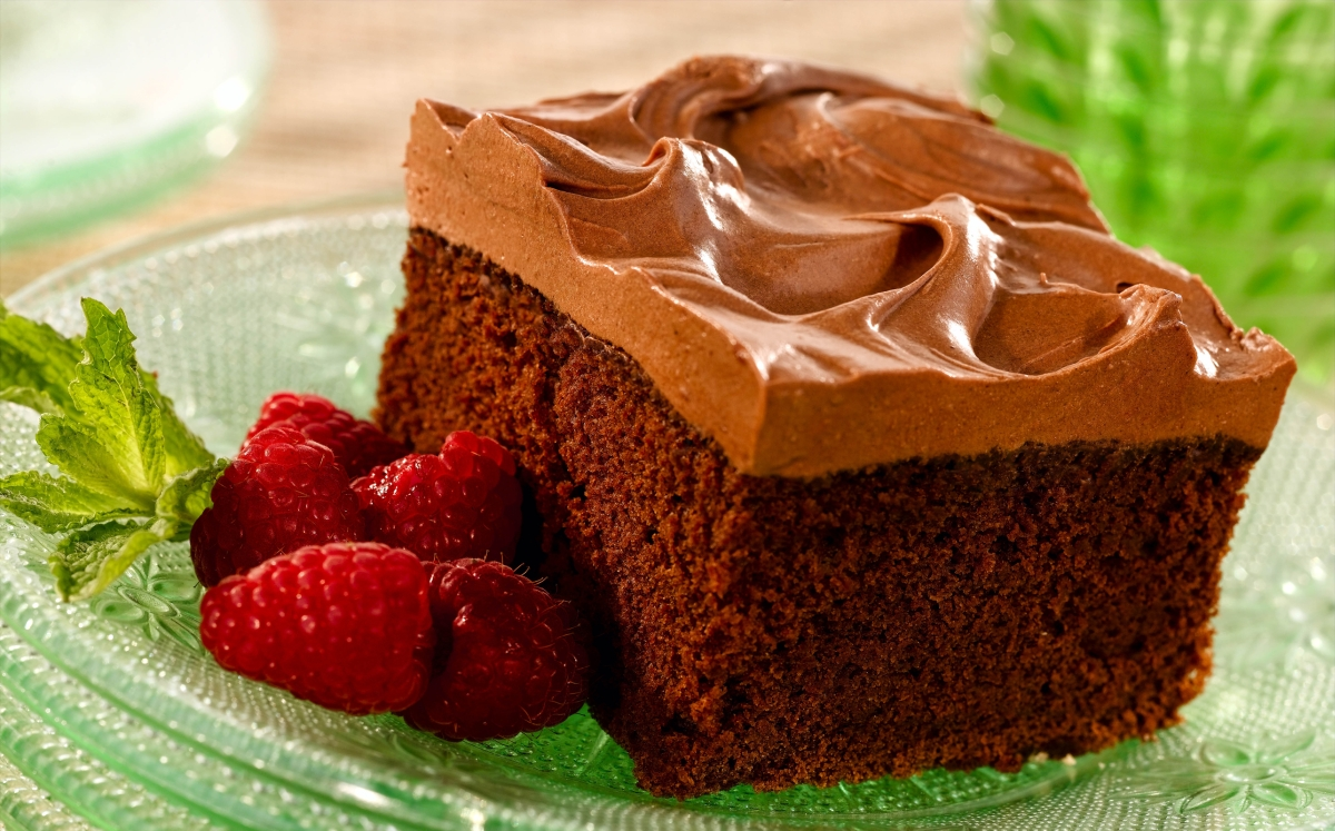 Sour Cream Chocolate Sheet Cake