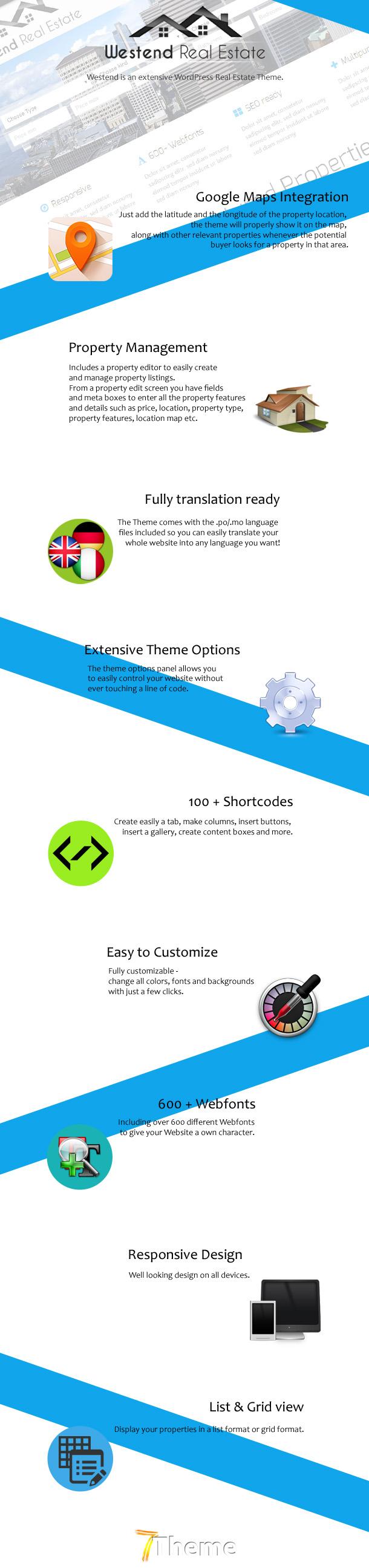 Westend Real Estate WordPress Theme